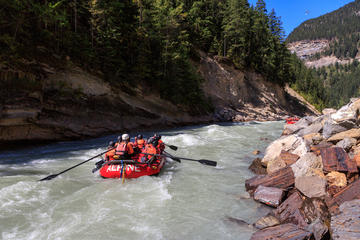 Day Trip Half-Day Kicking Horse River White-water Rafting Adventure near Golden, Canada