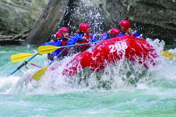 Whitewater Rafting on Jasper's Fraser...