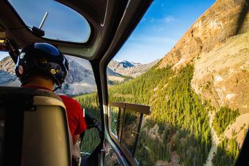 Helikoptertour over Canadese Rockies met vervoer vanuit Banff