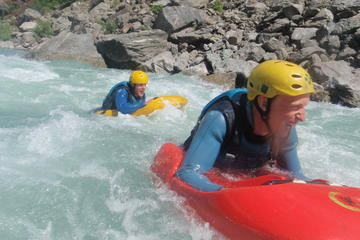 Kawarau River White Water Sledging