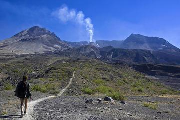 Tour de día completo para grupos pequeños al volcán del Monte St...