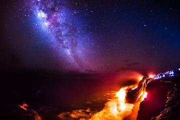 ヒロ発溶岩探検