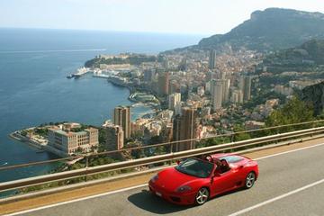 Experiência com carro esportivo Ferrari em Mônaco