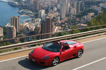 Ferrari Sports Car Experience from Monaco