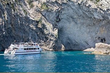 Viagem de barco panorâmica de Mallorca até a Praia de Formentor