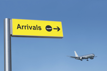 Transfert privé à l'arrivée: de l'aéroport international John Wayne...