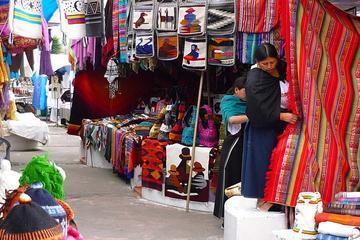 Tour to Otavalo Cotacachi Cuicocha Peguche