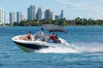 Recorrido en lancha motora por Miami