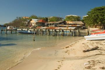 Excursión por la costa en Roatán: Visita al este de la isla
