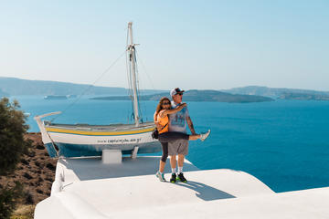 Explore Santorini with a local private driver