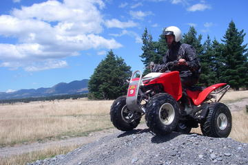 Small-Group Quad ATV Biking in Hanmer
