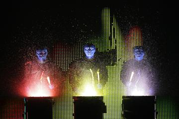 Blue Man Group al Briar Street Theatre di Chicago