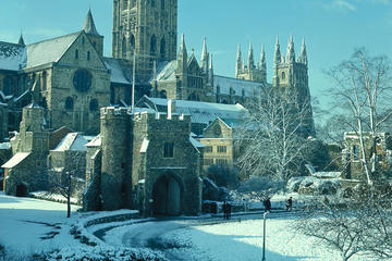 Leeds Castle Canterbury Cathedral Dover and Greenwich with Lunch on ...