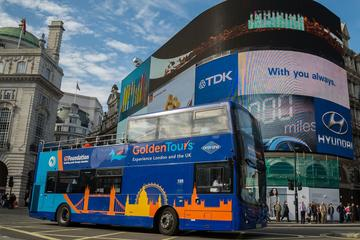 London Hop-On Hop-Off Bus Ticket with
