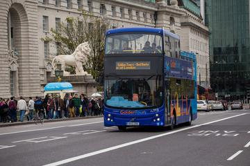 London hop on hop off-bussbiljett med inträdesbiljett till KidZania ...