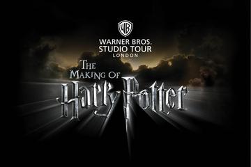 Warner Bros. Recorrido por los estudios de Londres para la producción...