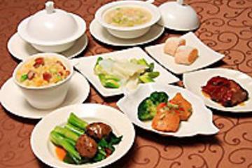 マイバスで行く!オールデイズ広東料理の夕食と1…