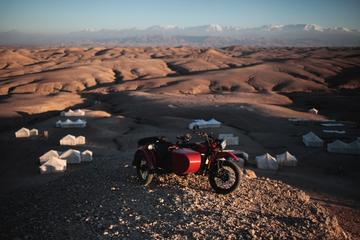 The Desert Ride by Vintage Sidecar