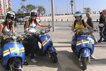 Barcelona scooterverhuur