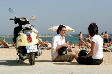 Excursão pelo litoral de Barcelona de scooter
