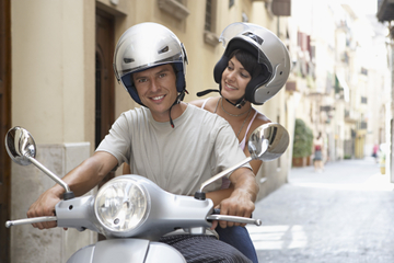 Motorroller-Verleih in Granada