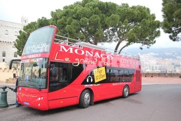 Excursão em ônibus panorâmico por Mônaco
