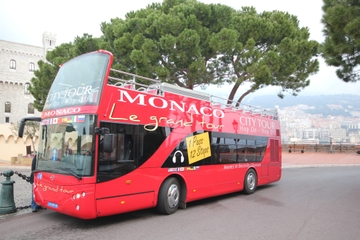 Hop-on-Hop-off-Tour durch Monaco