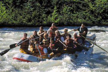 Excursão ao litoral de Juneau: excursão com rafting à Geleira...