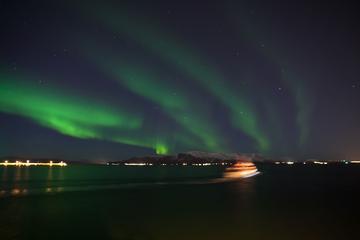 Crociera per l'osservazione dell'aurora boreale da Reykjavik