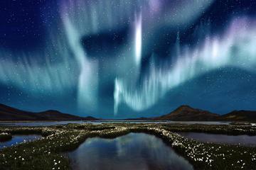 Cruzeiro para observação das luzes do norte saindo de Reykjavik