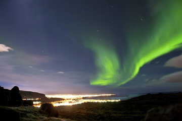 Offre spéciale Islande: croisière d'observation des aurores polaires...