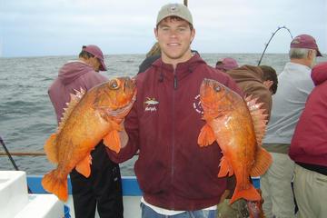 Cruzeiro de meio dia para pescaria em mar aberto saindo de Newport...