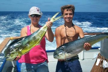 Día completo de crucero de pesca en alta mar desde Newport Beach