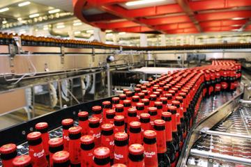 Estrella Damm brewery guided tour...