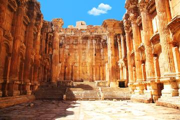 Visite privée: excursion d'une journée à Anjar, Baalbek et Ksara au...