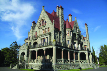 Craigdarroch Castle in Victoria