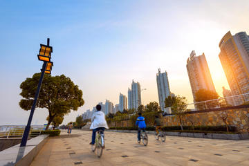 Recorrido en bicicleta por lo más destacado de Shanghái, incluye el...