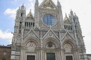Sla de wachtrij over: Wandeltocht naar de kathedraal van Siena en ...