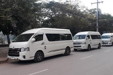 Shared transfer from Vang Vieng to Luang Prabang city