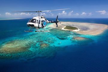 Survol en hélicoptère de la Grande barrière de corail et sortie en...