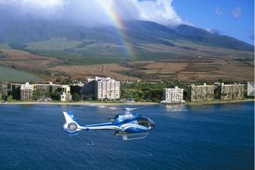 Hana para grupos pequeños por carretera de lujo y vuelo en helicóptero