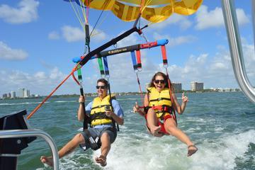 miami parasailing excursion in biscayne bay