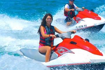 Tour guiado de 1 hora en moto de agua desde Coconut Grove