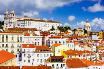 Excursion à pied avec arrêts facultatifs à Lisbonne