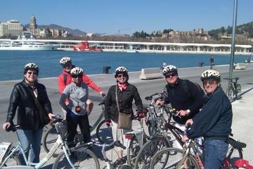 Recorrido en bicicleta por Málaga