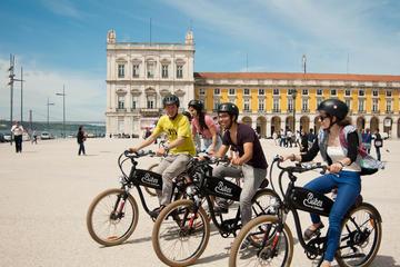 De heuvels van Lissabon met de elektrische fiets