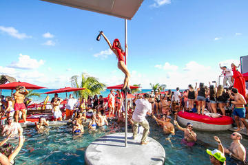 Day Time Rooftop Pool and Beach Club Party Tour