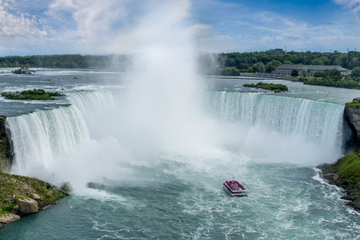 Visite touristique du côté canadien des chutes du Niagara