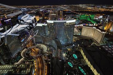 Cerimonia nuziale in elicottero con volo notturno a Las Vegas