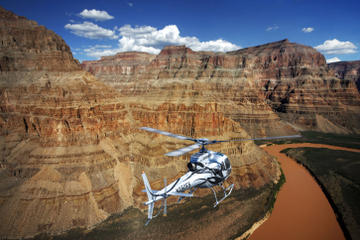 Lyxig rundtur till Grand Canyon West Rim med helikopter